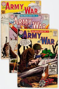 Our Army at War Group of 14 (DC, 1961-62) Condition: Average VG-.... (Total: 14 Comic Books)