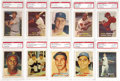 Baseball Cards:Sets, 1957 Topps Baseball PSA-Graded NM-MT 8 Complete Set (411). Anabsolutely exceptional set which already ranks as one of the h...