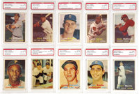 1957 Topps Baseball PSA-Graded NM-MT 8 Complete Set (411). An absolutely exceptional set which already ranks as one of t...