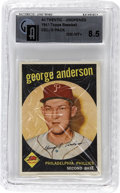"Baseball Collectibles:Others, 1959 Topps Baseball Cello Graded GAI NM/MT+ 8.5 with George ""Sparky"" Anderson On Top. Graded NM/MT+ 8.5 by GAI. Remember the..."