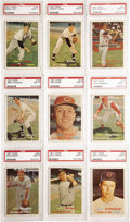 Baseball Cards:Lots, 1957 Topps PSA-Graded MINT 9 Collection (18). Of the 126,717 cardsfrom the 1957 Topps baseball set submitted to PSA, less t...
