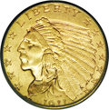 Indian Quarter Eagles: , 1911-D $2 1/2 MS64 PCGS. When 20th century gold enthusiasts introduce the subject of the 1911-D quarter eagle, what usually...