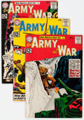 Silver Age (1956-1969):War, Our Army at War #120-129 Group (DC, 1961-62) Condition: Average VG.... (Total: 10 Comic Books)
