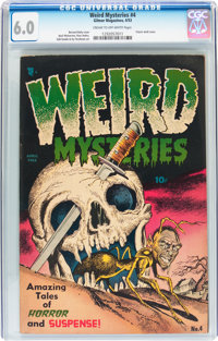 Weird Mysteries #4 (Gillmor, 1953) CGC FN 6.0 Cream to off-white pages