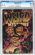 Golden Age (1938-1955):Horror, Weird Mysteries #2 (Gillmor, 1952) CGC FN- 5.5 Cream to off-whitepages....