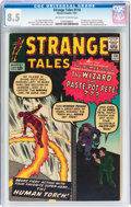 Silver Age (1956-1969):Superhero, Strange Tales #110 (Marvel, 1963) CGC VF+ 8.5 Off-white to white pages....