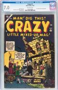 Golden Age (1938-1955):Humor, Crazy #1 (Atlas, 1953) CGC FN/VF 7.0 Off-white pages....