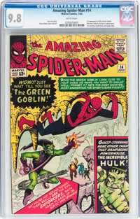 The Amazing Spider-Man #14 (Marvel, 1964) CGC NM/MT 9.8 White pages