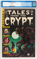 Golden Age (1938-1955):Horror, Tales From the Crypt #46 (EC, 1955) CGC VF+ 8.5 Off-white pages....