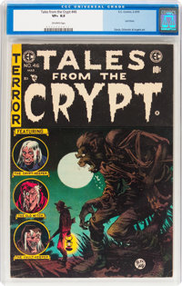 Tales From the Crypt #46 (EC, 1955) CGC VF+ 8.5 Off-white pages