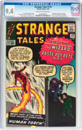 Silver Age (1956-1969):Superhero, Strange Tales #110 (Marvel, 1963) CGC NM 9.4 Off-white to whitepages....