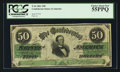 Confederate Notes:1861 Issues, T16 $50 1861 Cr. 83.. ...