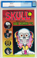 Bronze Age (1970-1979):Alternative/Underground, Skull Comics #1 (Rip Off Press, 1970) CGC NM 9.4 Cream to off-white pages....