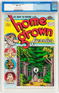 Modern Age (1980-Present):Alternative/Underground, Home Grown Funnies #nn (Kitchen Sink, 1971) CGC NM+ 9.6 Off-white to white pages....