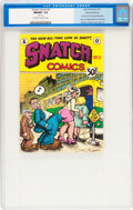 Silver Age (1956-1969):Alternative/Underground, Snatch Comics #3 Second Printing File Copy (Apex Novelties, 1969)CGC NM/MT 9.8 Off-white to white pages....