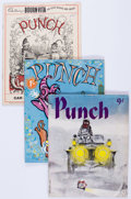 Magazines:Humor, Punch Group (Punch, 1941-59) Condition: Average GD/VG.... (Total:44 Items)