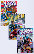 Modern Age (1980-Present):Superhero, X-Men Related Group of 74 (Marvel, 1990-92) Condition: AverageNM-.... (Total: 74 Comic Books)