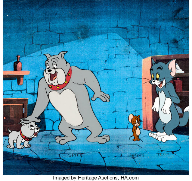 the tom and jerry comedy show tom jerry spike and tyke size lot