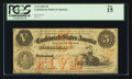 Confederate Notes:1861 Issues, T32 $5 1861 Cr. 246.. ...