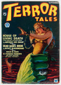 Pulps:Horror, Terror Tales - September 1934 (Popular, 1934) Condition: ApparentVG+....
