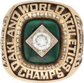 Baseball Collectibles:Others, 1989 Oakland Athletics World Series Championship Ring....