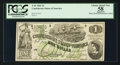 Confederate Notes:1862 Issues, T45 $1 1862 Cr. 342A.. ...