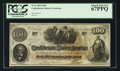 Confederate Notes:1862 Issues, T41 $100 1862 Cr. UNL.. ...