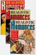 Golden Age (1938-1955):Romance, Realistic Romances Group of 5 (Avon, 1951-52) Condition: Average VG-.... (Total: 5 Comic Books)
