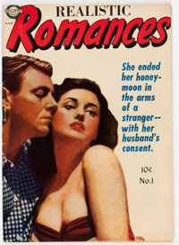 Realistic Romances #1 (Avon, 1951) Condition: FN
