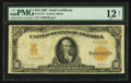 Large Size:Gold Certificates, Fr. 1172* $10 1907 Gold Certificate PMG Fine 12 Net.. ...
