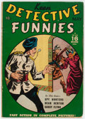Golden Age (1938-1955):Adventure, Keen Detective Funnies V2#5 (Centaur, 1939) Condition: VG-....
