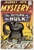 Silver Age (1956-1969):Horror, Journey Into Mystery #66 (Marvel, 1961) Condition: VG....