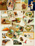 Miscellaneous:Postcards, [Postcards]. Group of Twenty-Four Thanksgiving Related Postcards.Various publishers, circa 1908 - 1916. ...