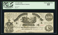 Confederate Notes:1861 Issues, T13 $100 1861 Cr. 58.. ...