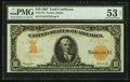 Large Size:Gold Certificates, Fr. 1172 $10 1907 Gold Certificate PMG About Uncirculated 53 EPQ.....