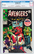Silver Age (1956-1969):Superhero, The Avengers #54 (Marvel, 1968) CGC NM+ 9.6 Off-white to white pages....
