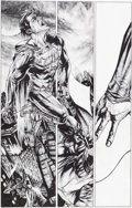 Original Comic Art:Panel Pages, Lee Bermejo Lex Luthor: Man of Steel #3 Page 14 Batman andSuperman Original Art (DC, 2005)....