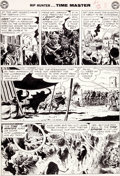 "Original Comic Art:Panel Pages, Alex Toth Rip Hunter... Time Master #6 ""Secret of theAncient Seer"" Page 3 Original Art (DC, 1962)...."