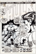 Original Comic Art:Covers, Herb Trimpe Incredible Hulk #156 Cover Original Art (Marvel,1972)....