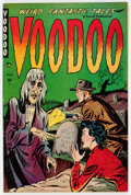 Golden Age (1938-1955):Horror, Voodoo #1 (Farrell, 1952) Condition: FN+....