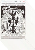"Original Comic Art:Complete Story, Sal Buscema Spectacular Spider-Man #217 ""Higher Ground!""Complete 22-Page Story Ben Reilly and Carnage Original Ar...(Total: 22 Original Art)"