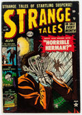 Golden Age (1938-1955):Horror, Strange Tales #14 (Atlas, 1953) Condition: GD....