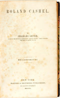 Books:Literature Pre-1900, [Literature]. Charles Lever. Roland Cashel. New York: Harper& Brothers, 1850....