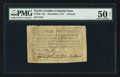 Colonial Notes:North Carolina, North Carolina December, 1771 £3 PMG About Uncirculated 50 Net.....