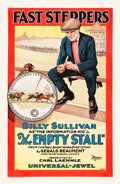 "Movie Posters:Short Subject, The Empty Stall (Universal, 1924). One Sheet (26.5"" X 40.25"").. ..."