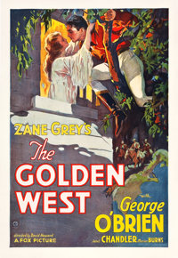 "The Golden West (Fox, 1932). One Sheet (28"" X 41"")"