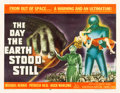 "Movie Posters:Science Fiction, The Day the Earth Stood Still (20th Century Fox, 1951). Half Sheet (22"" X 28"").. ..."