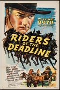 "Movie Posters:Western, Riders of the Deadline (United Artists, 1943). One Sheet (27"" X 41""). Western.. ..."