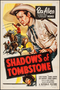 """Shadows of Tombstone (Republic, 1953). One Sheet (27"""" X 41""""). Western"""