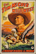 "Movie Posters:Western, Col. Tim McCoy's Real Wild West (1936). One Sheet (27"" X 41"") Style D. Western.. ..."